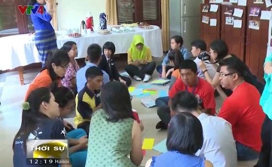 Trẻ em ASEAN thảo luận về nạn buôn bán trẻ em
