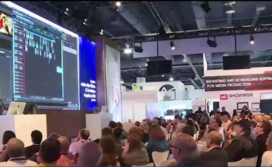 Hội tụ là điểm nhấn tại Hội chợ triển lãm công nghệ phát thanh truyền hình Las Vegas