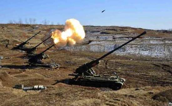 Triều Tiên tập trận bắn đạn thật, phô trương sức mạnh