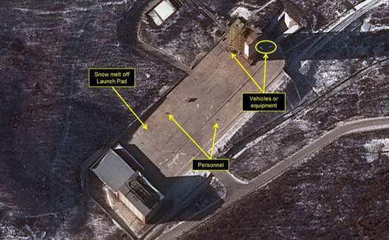 Các nước lo ngại về kế hoạch phóng vệ tinh của Triều Tiên