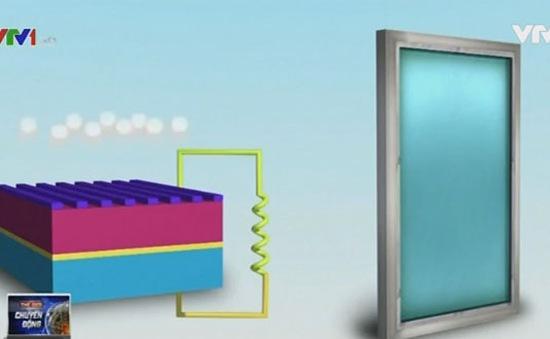 Biến cửa sổ thành hệ thống pin mặt trời