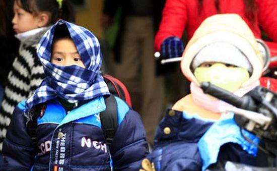 Tư vấn bảo vệ sức khỏe cho trẻ trong những ngày giá rét