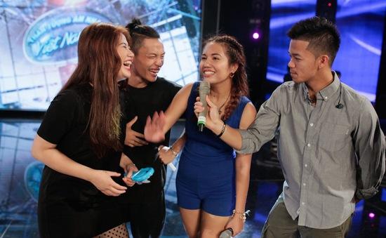 """Vietnam Idol: Top 4 """"quậy tung"""" sân khấu trước Gala 8"""