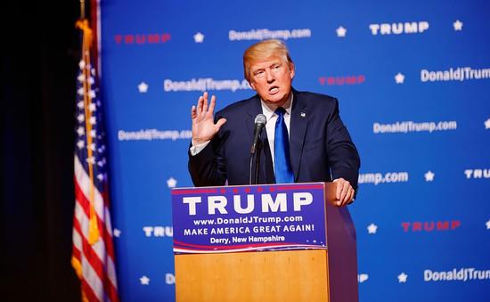 Tỷ phú Donald Trump đại diện đảng Cộng hòa tranh cử Tổng thống Mỹ