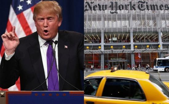 Tổng thống đắc cử Donald Trump hủy cuộc gặp với New York Times