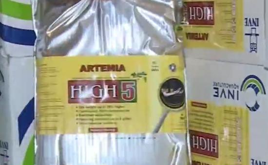 Nhiều DN kiến nghị bỏ áp thuế nhập khẩu 5% trứng Artemia