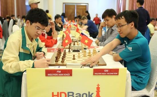 Trường Sơn giữ vị trí thứ 6 tại giải cờ vua HD Bank 2016