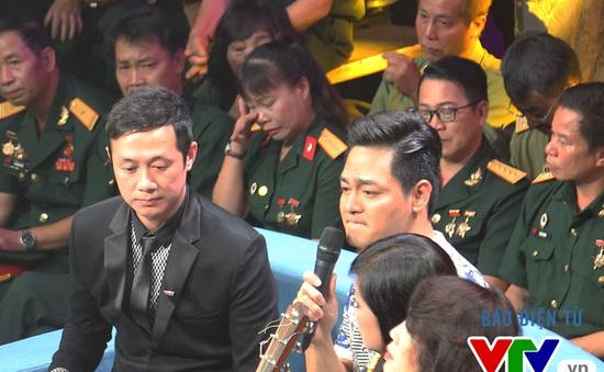 MC Phan Anh nghẹn ngào xúc động trên trường quay Giai điệu tự hào