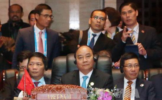 Hội nghị Cấp cao Đông Á thông qua Tuyên bố Vientiane