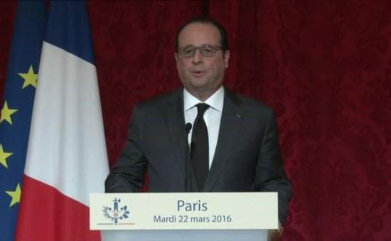 Châu Âu lên án loạt vụ tấn công khủng bố tại Bỉ