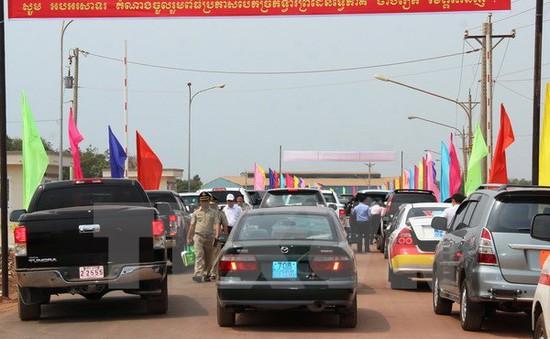 Hôm nay (7/7), Tây Ninh bắt đầu thu phí sử dụng hạ tầng ở cửa khẩu Chàng Riệc