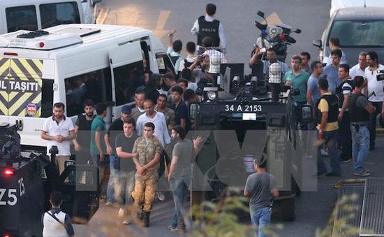 Đức, Mỹ và EU kêu gọi Thổ Nhĩ Kỳ tôn trọng pháp quyền