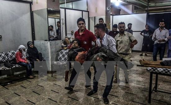 Syria: Phiến quân nã đạn cối vào Damascus, gần 30 người thương vong
