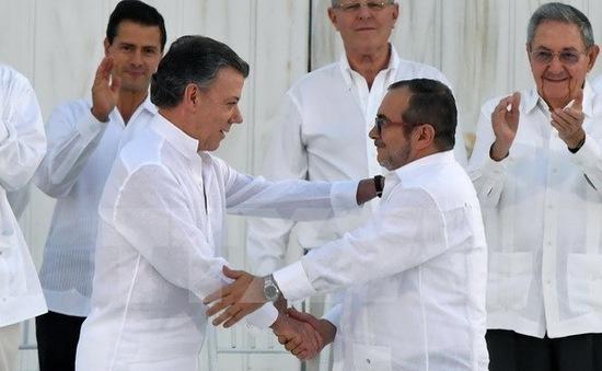 Colombia đạt được thỏa thuận hòa bình mới