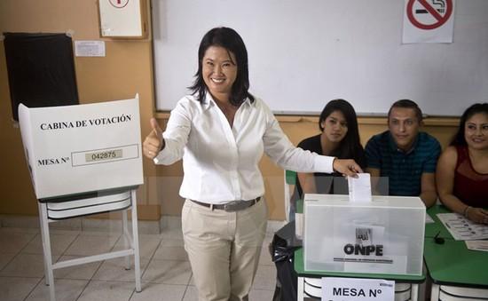 Peru tiến hành bầu cử Tổng thống vòng hai