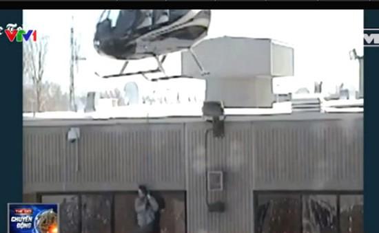 Tù nhân vượt ngục bằng... trực thăng