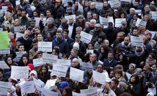 Hàng ngàn người tuần hành chống chủ nghĩa cực đoan tại Bỉ
