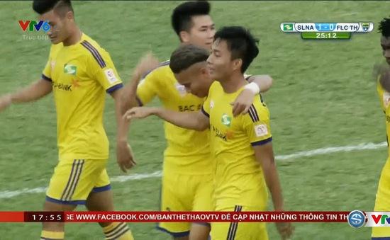 [KT] Vòng 20 V.League, SLNA  1-0 FLC Thanh Hóa: Chiến thắng thuyết phục!
