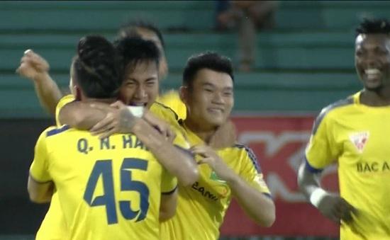 [KT] Long An 1 - 2 Sông Lam Nghệ An: Đội khách giành trọn 3 điểm