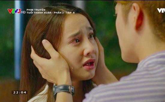 Tuổi thanh xuân 2 - Tập 8: Junsu (Kang Tae Oh) đay nghiến Linh (Nhã Phương) mặc cô nước mắt giàn giụa