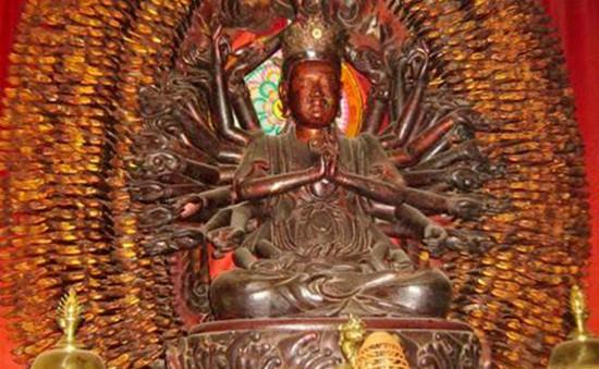Pho tượng nghìn tay nghìn mắt ở Hưng Yên lần thứ hai bị đánh cắp