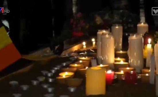 Anh tưởng niệm các nạn nhân trong vụ khủng bố ở Bỉ