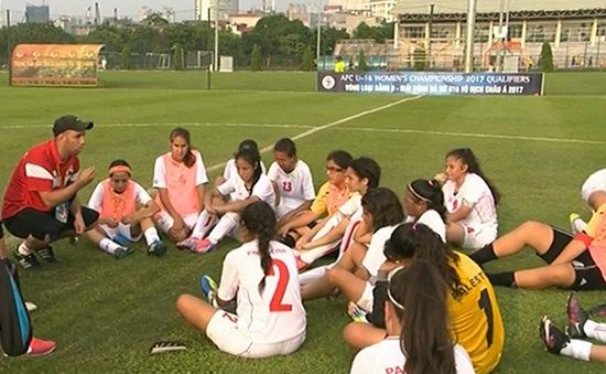 U16 nữ Palestine: Mong muốn bóng đá vượt qua mọi rào cản
