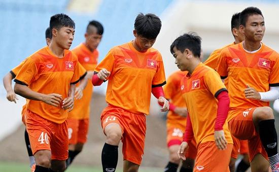 Trận đấu thứ 2 của ĐT U19 Việt Nam tại Trung Quốc bị hoãn giữa chừng