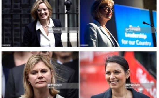 Nội các mới của bà Theresa May sẽ xuất hiện nhiều nữ chính trị gia?