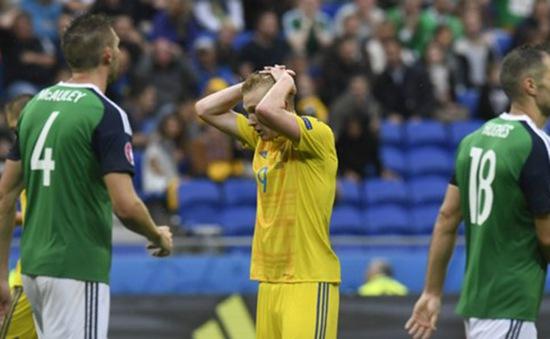 Xác định đội bóng đầu tiên bị loại tại EURO 2016