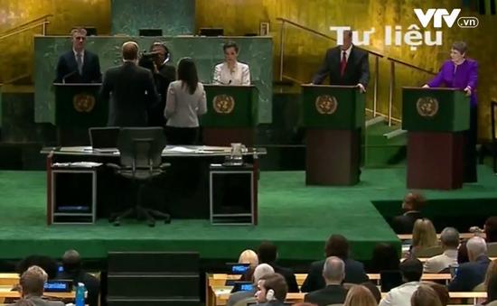 Bỏ phiếu thăm dò lần 3 đối với ứng viên Tổng thư ký LHQ
