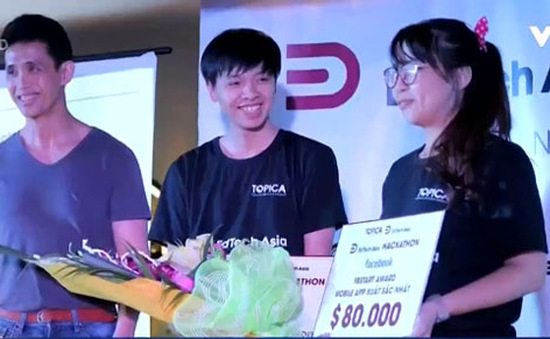 Ứng dụng di động Việt nhận tài trợ 80.000 USD từ Facebook