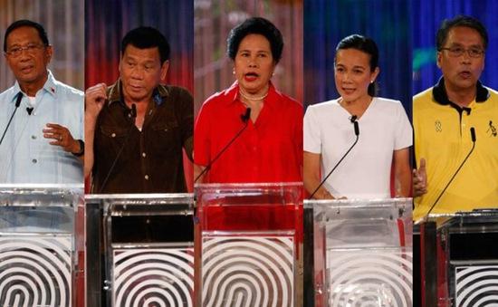 Người dân Philippines bắt đầu bầu cử Tổng thống