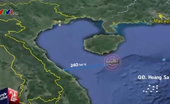 Quảng Bình: Nỗ lực tìm kiếm 3 thuyền viên mất tích