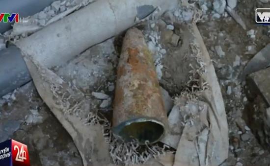 Cưa bom mìn và vật liệu nổ: Đùa với tử thần!