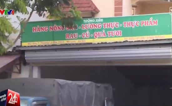 Phát hiện một cơ sở tại Hà Nội đưa rau không rõ nguồn gốc vào siêu thị