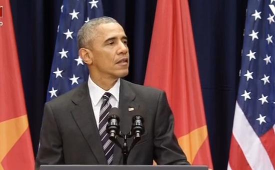 Tổng thống Obama ngợi khen phụ nữ Việt Nam mạnh mẽ
