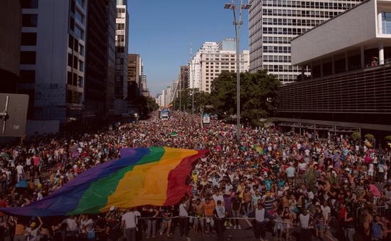 Hàng trăm nghìn người diễu hành ủng hộ người đồng tính tại Brazil