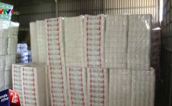 Lâm Đồng phát hiện cơ sở sản xuất giấy vệ sinh giả quy mô lớn