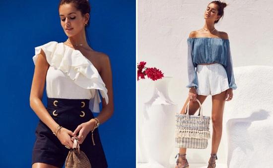 Những thiết kế thời trang hè gợi cảm mang sắc màu biển cả