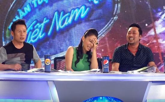 """Vietnam Idol: Giám khảo cười ngặt nghẽo trước """"Thằng Nam khóc"""""""
