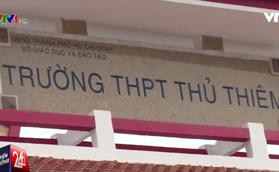 Choáng với khoản thu cao bất thường ở trường THPT Thủ Thiêm