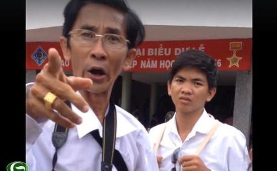 Vụ ngăn cản sinh viên chụp ảnh: Thợ chụp ảnh phải nộp tiền cho cán bộ trường