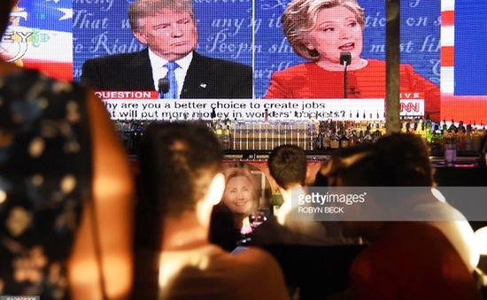 Hơn 80 triệu người xem cuộc tranh luận bầu cử Tổng thống Mỹ