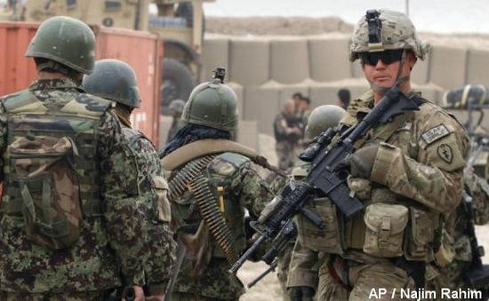 Mỹ duy trì 8.400 binh sĩ tại Afghanistan đến năm 2017