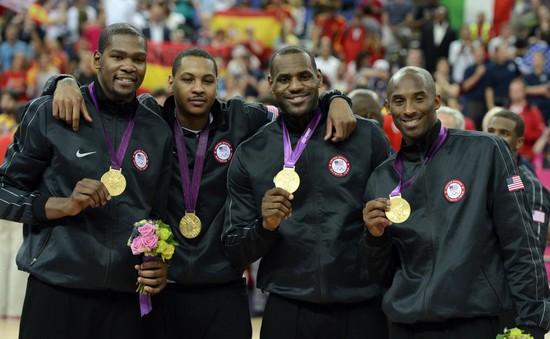 OLYMPIC RIO 2016: ĐT bóng rổ Mỹ - ứng viên số 1 cho ngôi vô địch!