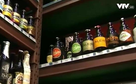 Văn hóa bia Bỉ được vinh danh di sản phi vật thể