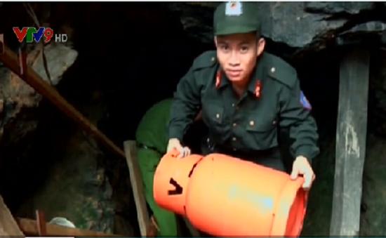 Quảng Nam: Truy quét nhiều điểm nóng khai thác vàng trái phép