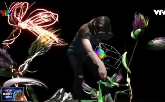 Chiêm ngưỡng những tác phẩm vẽ bằng công nghệ thực tế ảo