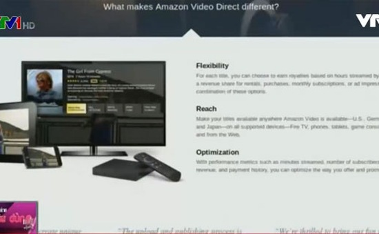 Amazon Video Direct – Đối thủ mới của Youtube